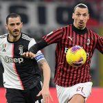 Virus Corona Batalkan Duel Juventus vs AC Milan (12 -14 Jan 2020)